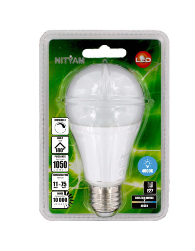 LED STANDARD A60 11W 1050lm E27 4000K DIMMABLE