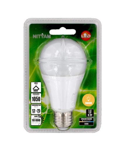 LED STANDARD A60 12W 1050lm E27 3000K