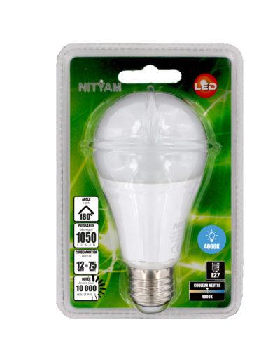 LED STANDARD A60 12W 1050lm E27 4000K