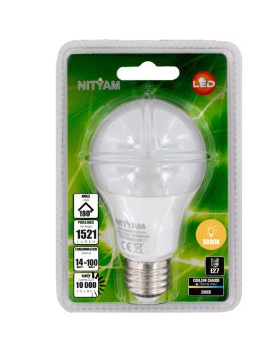 LED STANDARD A60 14W 1521lm 3000K